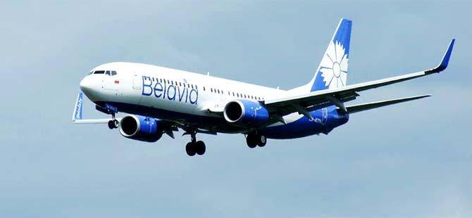 AB Belarus uçaklarına hava sahasını kapattı