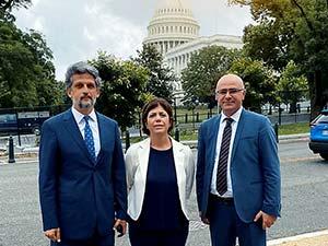 HDP heyeti Washington'da temaslarda bulundu