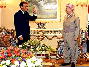 Mesud Barzani: Fransa'nın Kürdistan'la istikrarlı dostluğu var