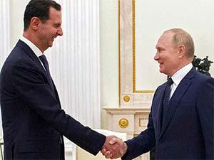 """Putin'den """"yabancı güçlerin"""" Suriye'de bulunmasına tepki"""