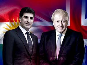 Neçirvan Barzani, Boris Johnson ile bir araya gelecek