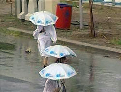 Kabe'ye yağmur yağdı!