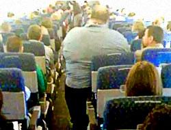Obez yolcu iki bilet alsın!