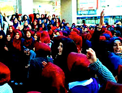 Diyarbakır'da katsayı kararı protesto edildi