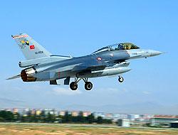 Adana semalarında F16'lı mesaj!