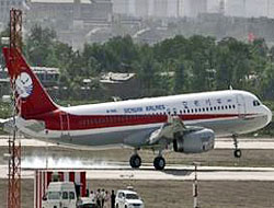 Çin Airbus uçak da üretti