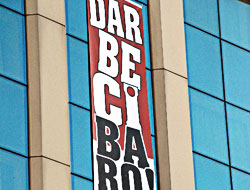 Baro o pankartın hakkını verdi