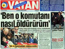 Hürriyet'ten Vatan'a yalanlama!