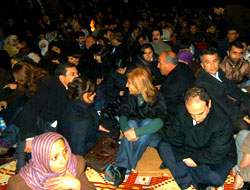Diyarbakır'da eylem sürüyor