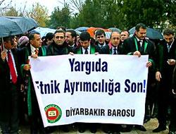 Diyarbakır'da avukatlar yürüdü!