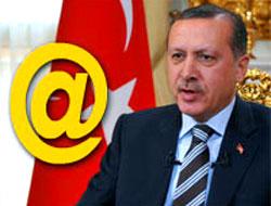 Başbakan e-posta adresini verdi