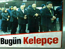 Diyarbakır'da 'Dün Halepçe bu gün kelepçe' afişleri