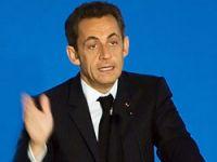 Davos'ta açılış Sarkozy'den!