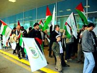 Filistin konvoyu İstanbul'a ulaştı