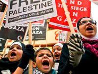 Gazze'de can verenler Londra'da anıldı