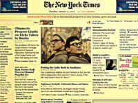 NYT sitesi 2011'de ücretli olacak