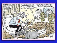 Günün karikatürü Hürriyet'ten