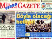 Milli Gazete'de 'Beleş Yazar' krizi!