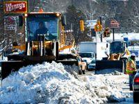 Washington'da yeniden kar fırtınası