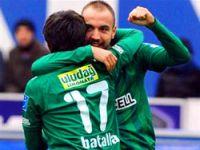 Bursaspor ilk yarıda bitirdi!