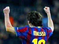 Şampiyonlar Ligi'nde Messi'nin gecesi