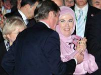 Emine Erdoğan elini öptürmedi