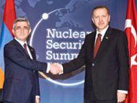 Erdoğan, Sarkisyan'la görüştü