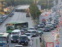 İstanbul'da Maraton trafiği