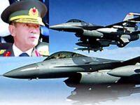 Berk Paşa gelmedi F16 gönderdi