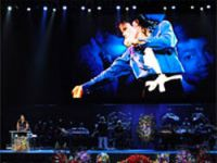 Michael Jackson'un cenazesine çok sayıda ünlü katılı.