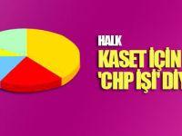 Halk kaset olayı için 'CHP işi' diyor