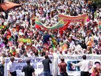 20 bin BDP'li Diyarbakır'da yürüdü
