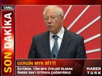 CHP MYK'da tartışma çıktı