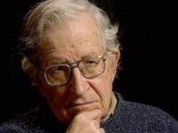 Chomsky yasağına protesto