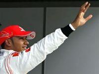 Formula 1'de zafer Hamilton'un