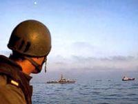 Gazze'ye giden kargo gemisi durduruldu