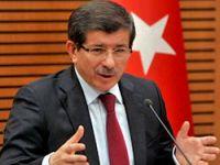 Davutoğlu'ndan İsrail açıklaması