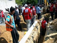 Gazze'nin hayat suyu Kızılay'dan