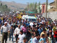 Öldürülen 4 PKK'li toprağa verildi