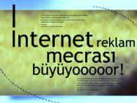 İnternet reklamda bir mumara