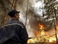 Rusya'daki yangın radyoaktif bölgeye sıçradı