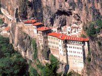 Sümela Manastırı'nda tarihi gün