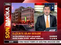 İsrail'deki Türk elçiliğinde silah sesleri