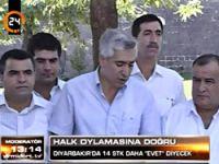 Diyarbakır'da 14 STK 'Evet' diyecek