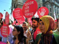'Darbeye Karşı 70 Milyon Adım' yürüyüşü yapıldı