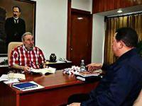 5 saatlik Castro-Chavez görüşmesi