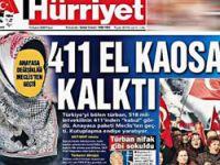 Erdoğan'ın unutamadığı o manşet