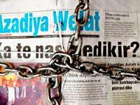Azadiya Welat ve Rojev'e kapatma