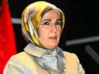 Emine Erdoğan felaket bölgesinde