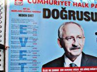 CHP, referandum afişinde inançlara hakaret etti